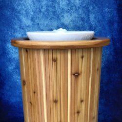 Cedar Baptismal Font