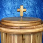Cedar Lid with Cross